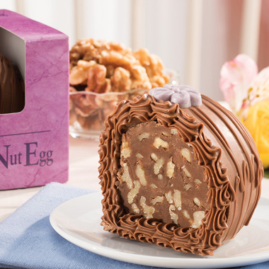 Fudge Nut Egg