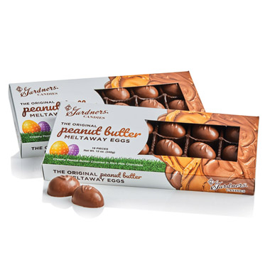 Gardners Original Peanut Butter Meltaway® Eggs Tray