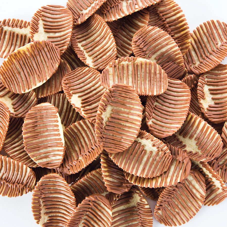 Chocolate Drizzled Potato Chips