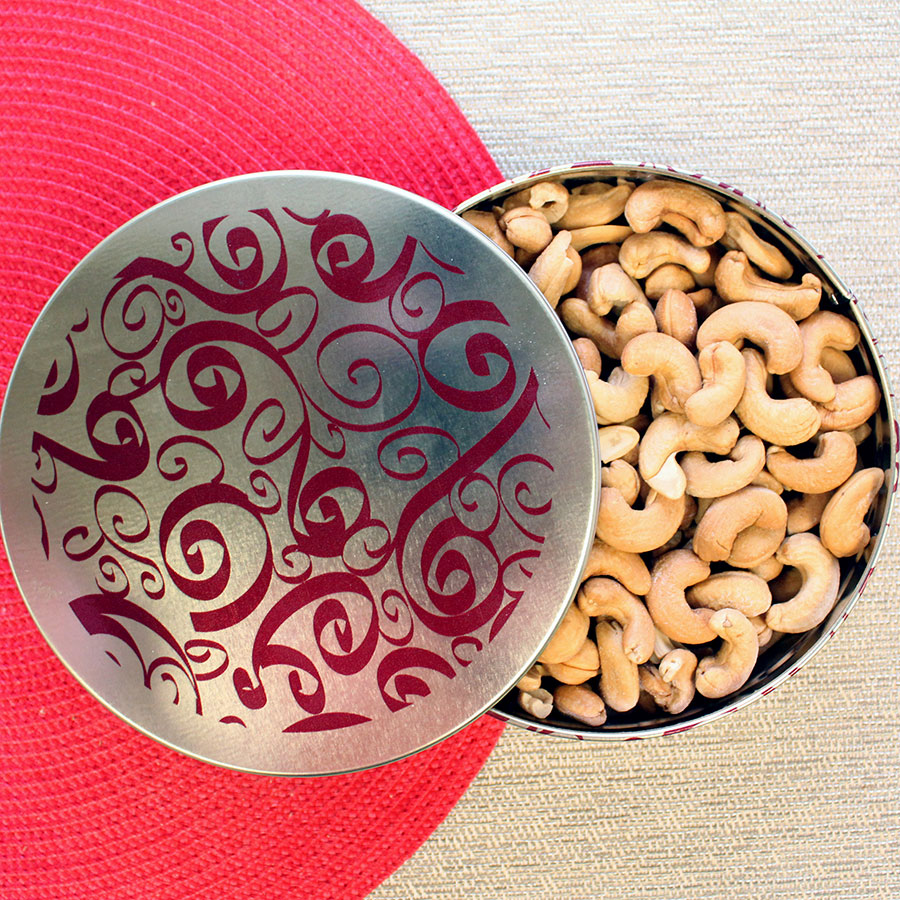 Whole Jumbo Cashews-Fathers Day Tin