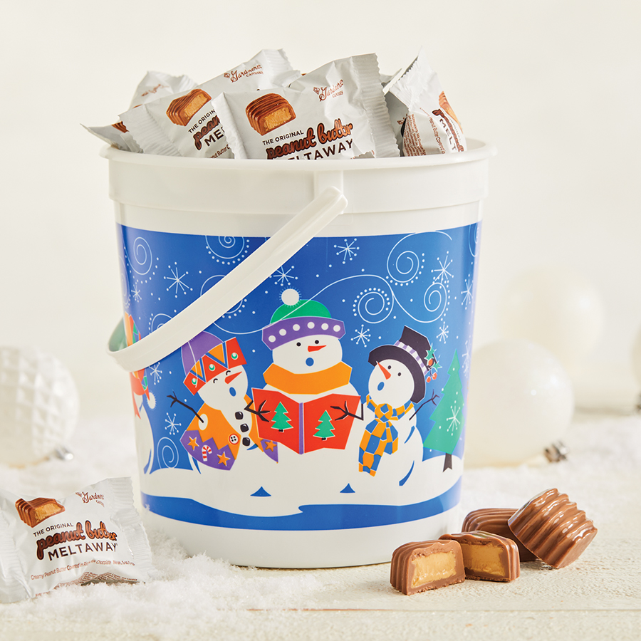 Original Peanut Butter Meltaway® Christmas Pail
