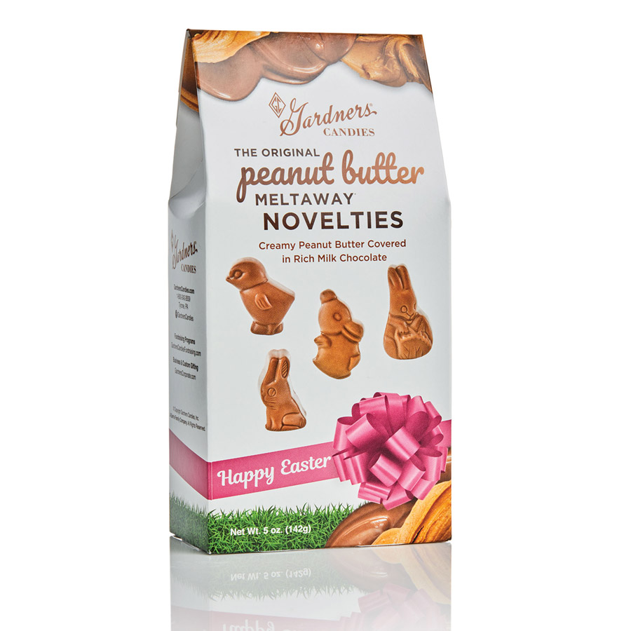 Gardners Original Peanut Butter Meltaway® Easter Novelties