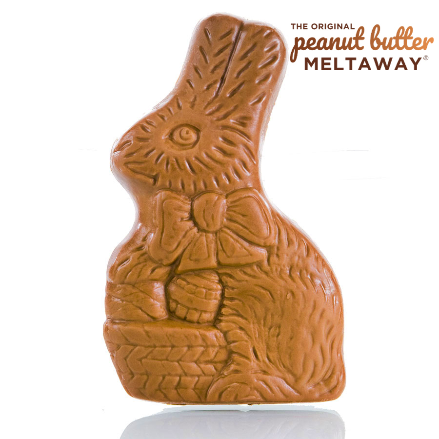 Peanut Butter Meltaway Bunny With Basket